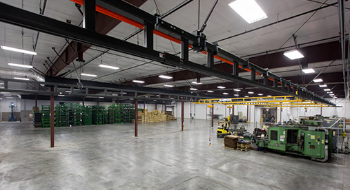CNC Precision Manufacturing Warehouse Facility