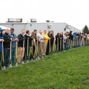 Groundbreaking on 40,000 st ft expansion April